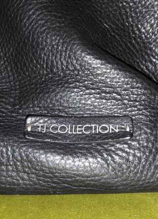 Сумка кожа большая tj collection