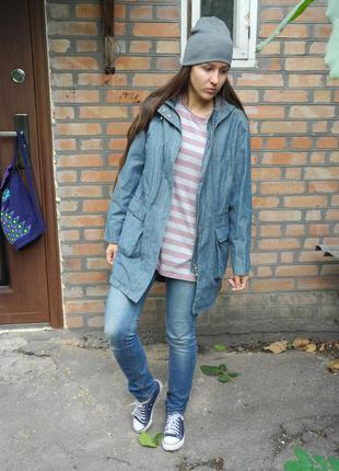 Легкая парка, куртка на теплый демисезон, осень,весна