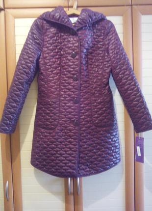 Срочно! новая стеганая куртка на весну-осень.