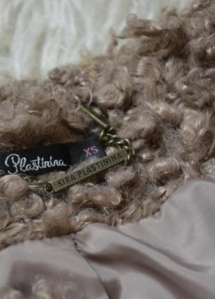 Пальто-шуба, искусственная овчина