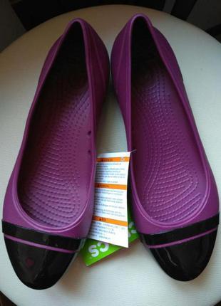 Балетки crocs кроксы