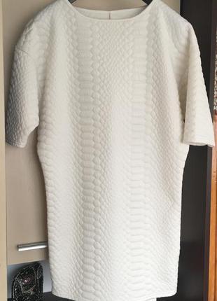Туника-платье, стрейчевая