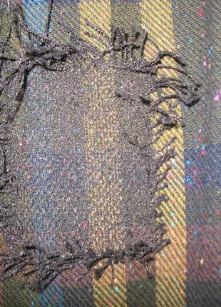 Длинная юбка-карандаш с декоративными латками