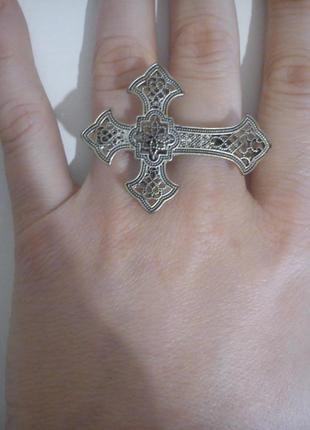 Кольцо на два пальца asos