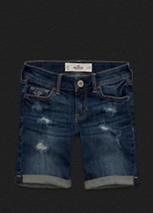 Hollister джинсовые бриджи