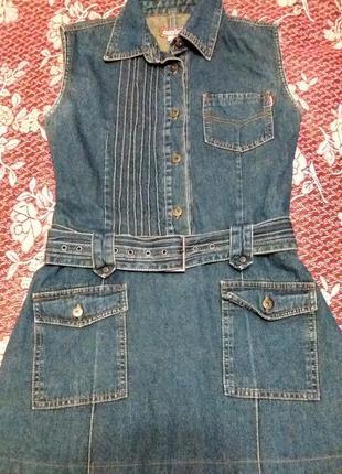 Джинсовое платье gloria jeans