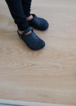 Crocs синие размер 5 7