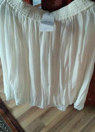 Модна юбка в пол манго
