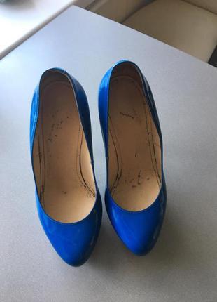 Туфли лаковые nando muzi
