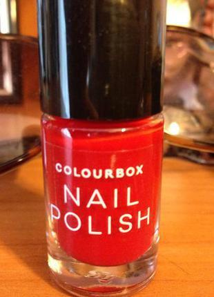 Лак для нігтів colourbox колір - мак