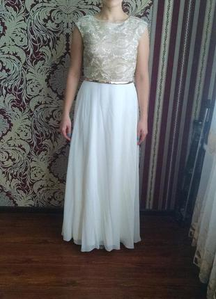 Элегантное вечернее платье тм enigma