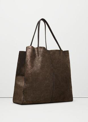 Крутая сумка натуральная кожа