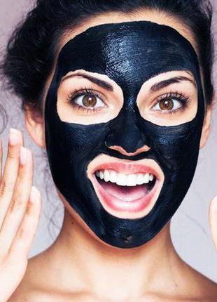 Черная маска-плёнка от чёрных точек (пробник)