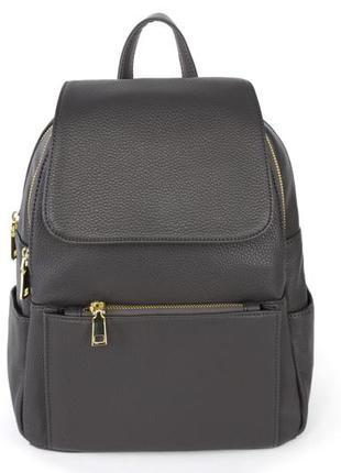 Стильный городской рюкзак серый