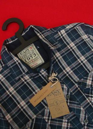 Рубашка easy blue размер s