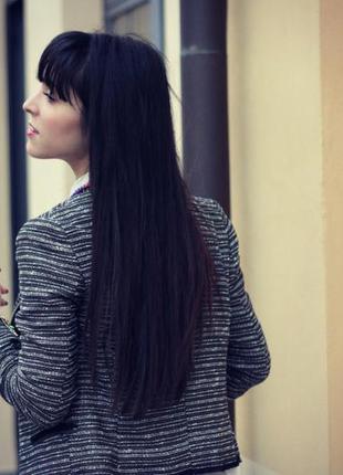 Твидовый пиджак блейзер женский mango м
