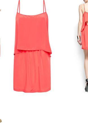 Платье сарафан женское mango c хс с открытой спинкой