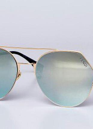 Зеркальные очки fendi