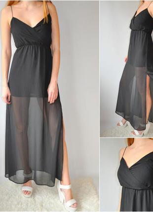 Новое черное ,вечернее,нарядное платье от h&m!