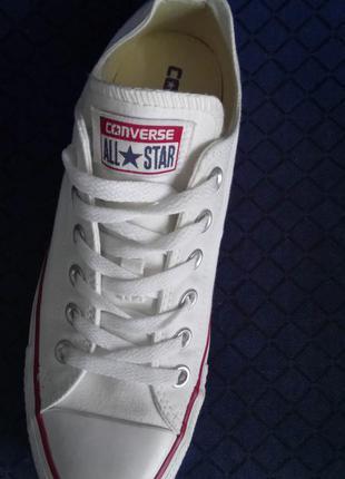 Converse all star кеди білі