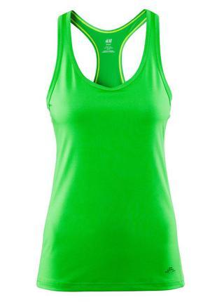 Зеленая спортивная майка борцовка