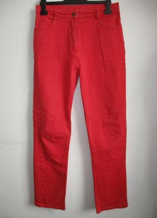 Красные джинсы cotton traders, 12 размер