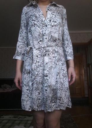 Платье-халат)