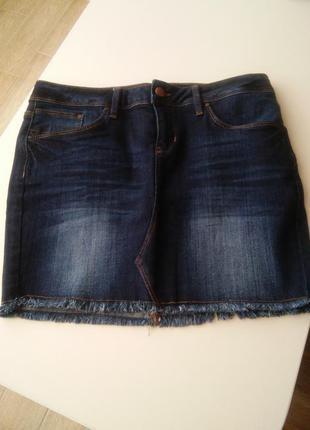 Джинсовая юбка colins