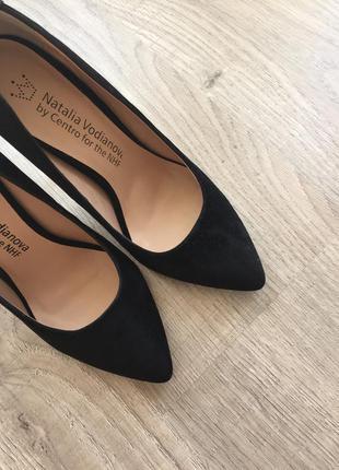 Шикарные черные туфли by vodianova