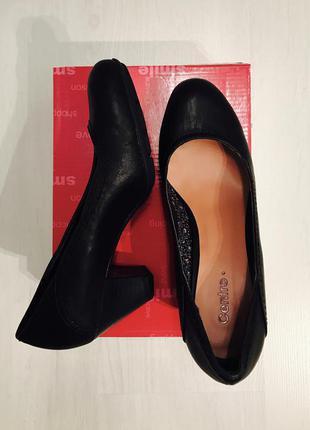 Классические черный туфли лодочки centro