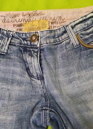 Супер джинсы-бойфренды river island