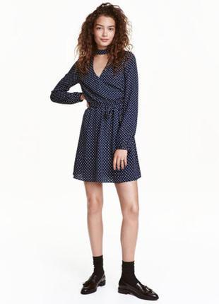 Новое платье в горошек h&m