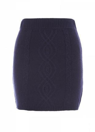 Стильная, вязаная юбка, очень модная.