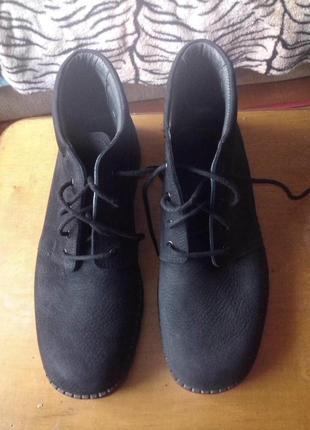 Кожаные ботинки rohde soft walking