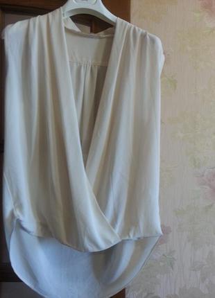 Блузка свободного фасона от vera &lucy