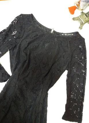 Гипюровое платье zara