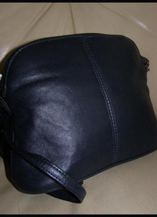 Стильная кожаная сумка через плечо – натуральная кожа наппа  - c&a германия