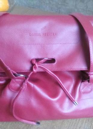 Супер сумочка коліру марсала