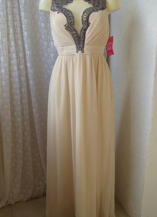 Платье вечернее в пол little mistress р.46 №7476