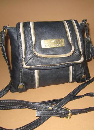 Стильная сумка crossbody из натуральной кожи river island великобритания