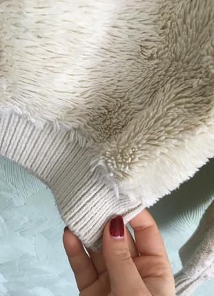 Махровый свитер