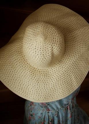 Шляпа капелюх h&m пляжный