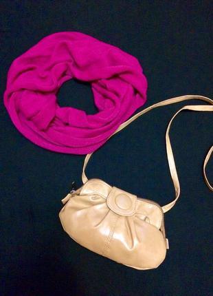Фирменная сумка zara,сумочка кросс-боди+подарок ремешок