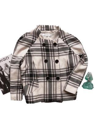 Короткий тренч, куртка   zara   размер м