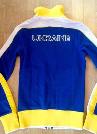 Кофта nike ukraine збірної команди з легкої атлетики