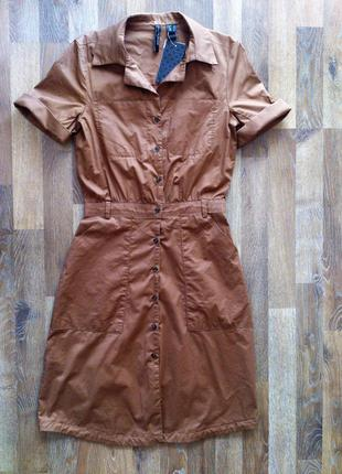 Платье рубашка mango размер s/8