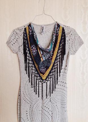 Платье-футболка desigual