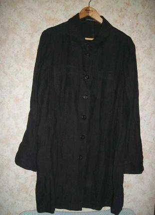 Блуза рубашка длинная  betty barclay льняная