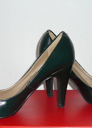 Шикарные туфли atmosphere изумрудного цвета