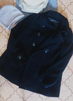 Пальто пиджак трапеция zara